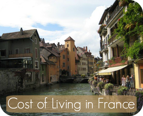 Cost of Living in France