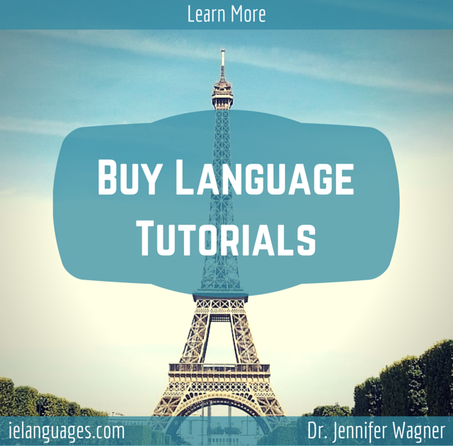 Buy language tutorials covering vocabulary, grammar, and pronunciation of European languages with accompanying mp3s by Dr. Jennifer Wagner and ielanguages.com