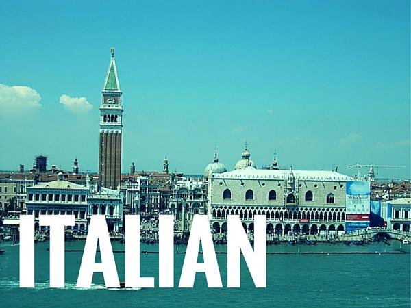 Learn Italian language online