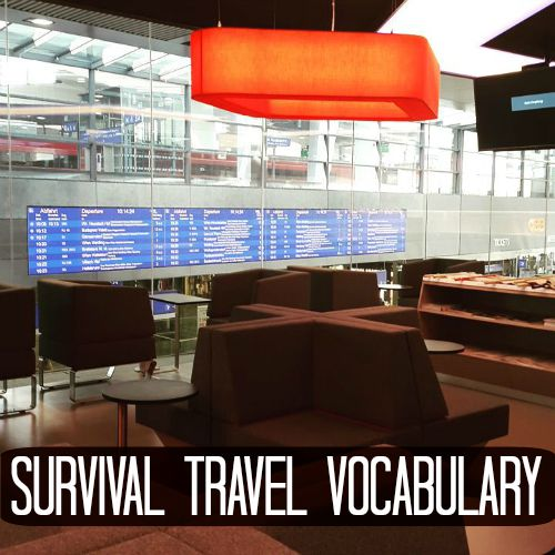 Survival Travel Vocabulary