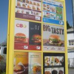 The Frenchified English of McDonald's in France