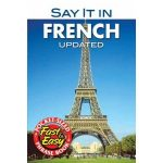 My Say it in French Phrasebook Available in September from Dover Publications