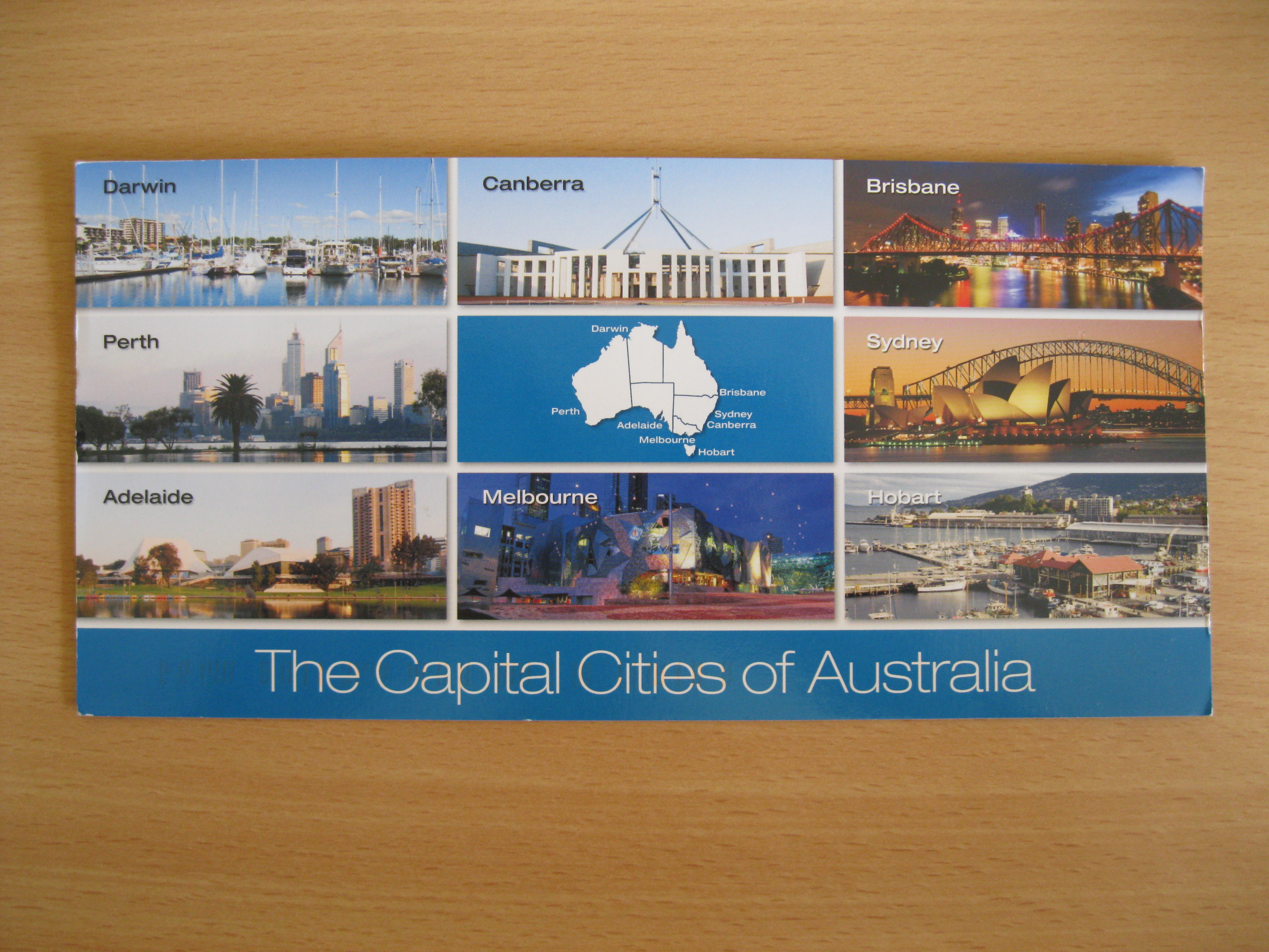Capital cities of Australia
