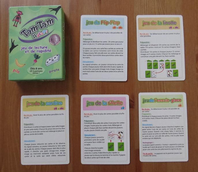 Various ways to play Tam Tam Safari