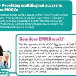 EMMA: European Multiple MOOC Aggregator