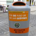 Learning German from Trashcans in Vienna, Austria
