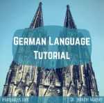 German Language Tutorial PDF e-book and mp3s now available