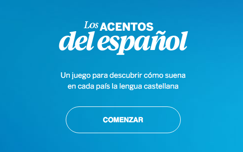 Spanish Accents Game by El País