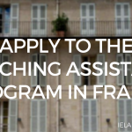 English Teaching Assistant Program in France for 2017-2018