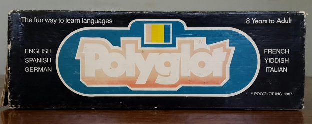 Polyglot Board Game - the fun way to learn languages