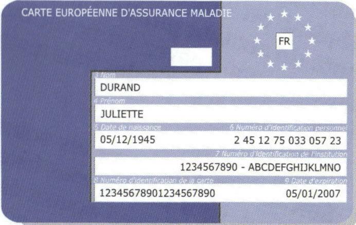 carte vitale européenne mgen Expats in France: Health Insurance (La Sécurité Sociale) and
