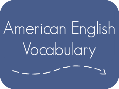 American English Vocabulary With Pronunciation Ielanguages Com