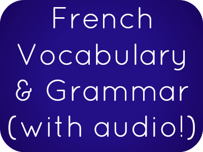 Learn French online for free: French phrases, vocabulary and grammar with free mp3s