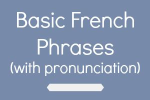 Basic french phrases with pronunciation and audio ielanguages basic french phrases m4hsunfo