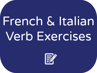French And Italian Comparative Verb Conjugation Flashcards