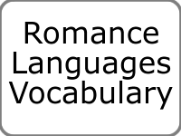 Romance Languages Vocabulary